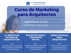 Curso Marketing para Arquitectos COAG CO