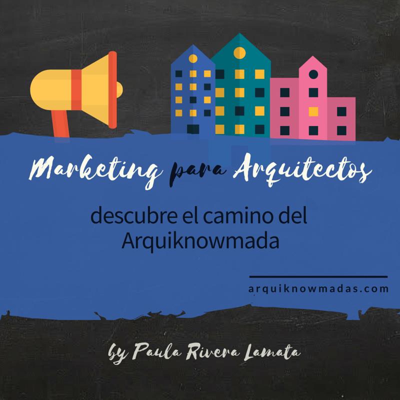 Curso de Marketing para Arquitectos en Pontevedra