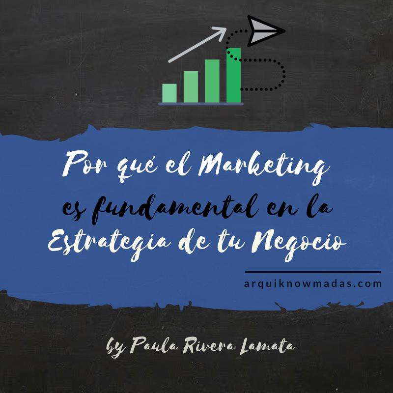 Por qué el Marketing es fundamental en la Estrategia de tu Negocio.