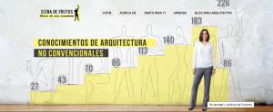 Diario de una arquitecta Elena de Frutos